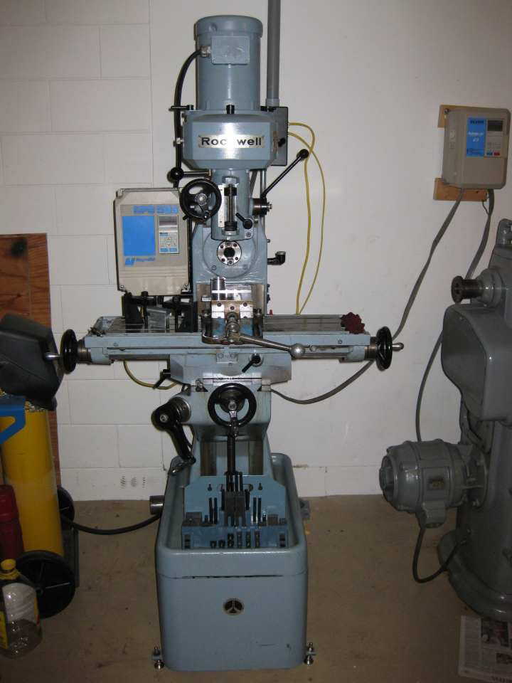 Milling Machine For Sale >> Milling Machine Rockwell Knee Mill Vertical And Horizontal 2500 Fl