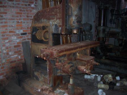 old rusty machines