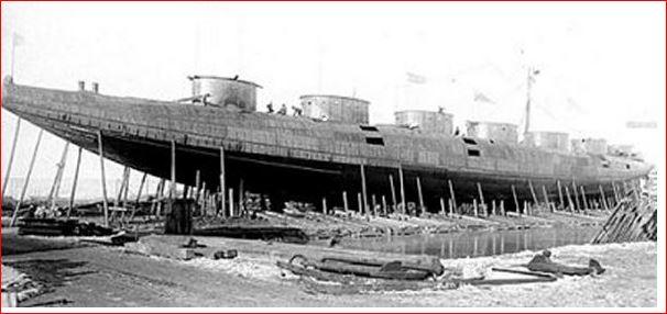 Whaleback steam