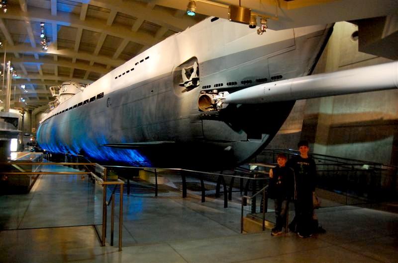 Moving The U 505 Submarine