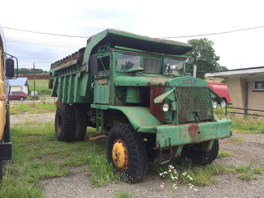 OT: Old Iron - Euclid Dump Truck