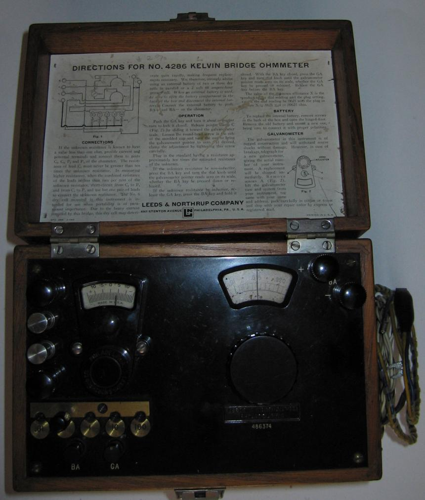 Lots of dials and switches on this mystery device. Multimeter maybe?