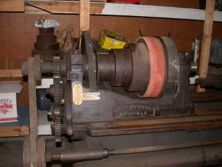 Moving Overhead Flat Belt Cone Pulleys