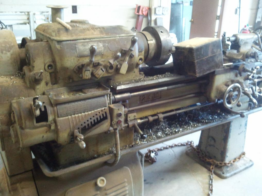 Metal Lathe For Sale >> Hendey 12x30 Gearhead Yet Still Another Beginner Lathe Purchase