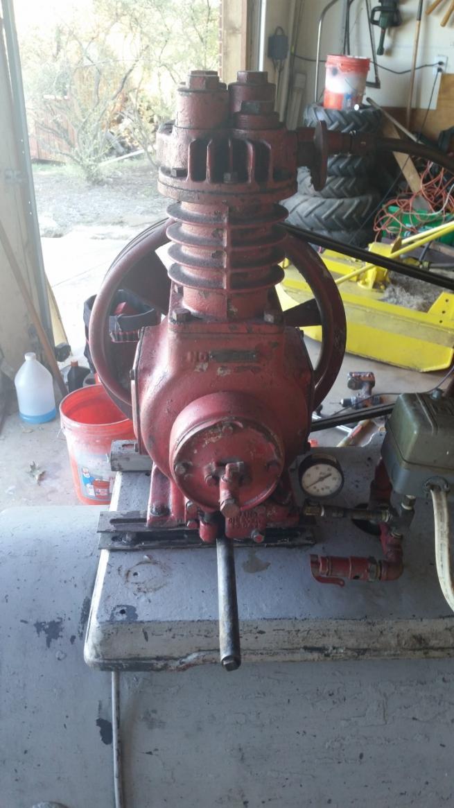 Help Id Old Compressor