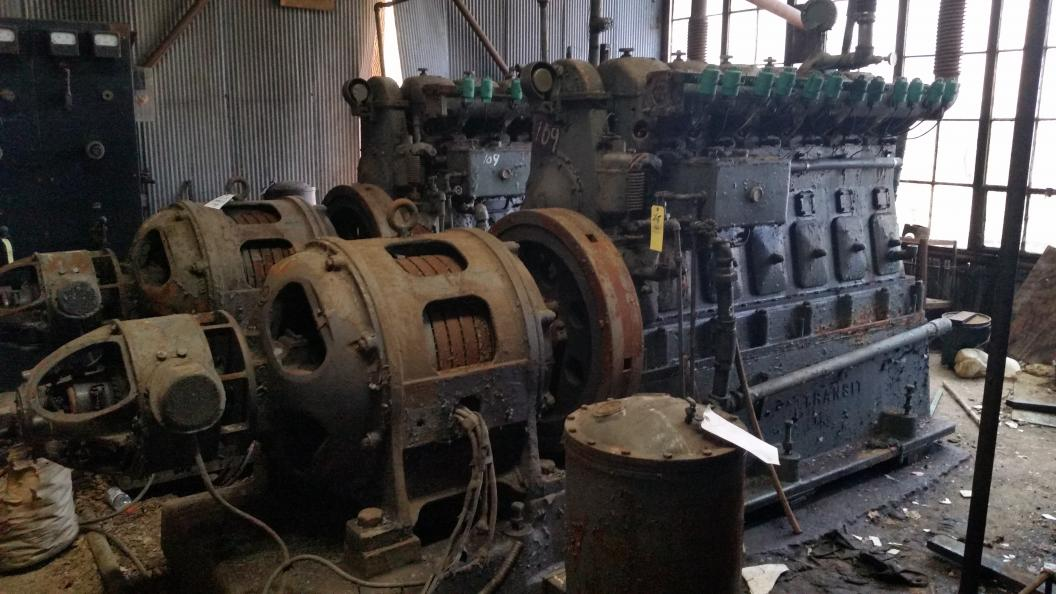 Old machinery auction near salem oh for Motor machine shop near me
