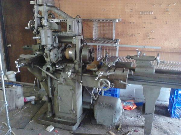 Dalton Combination Mill Lathe Was Interesting Machine