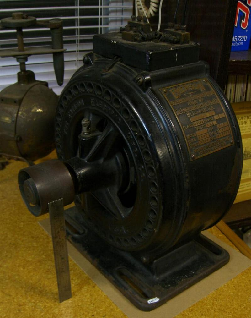 vintage electric motors thread forward thread old electric motors