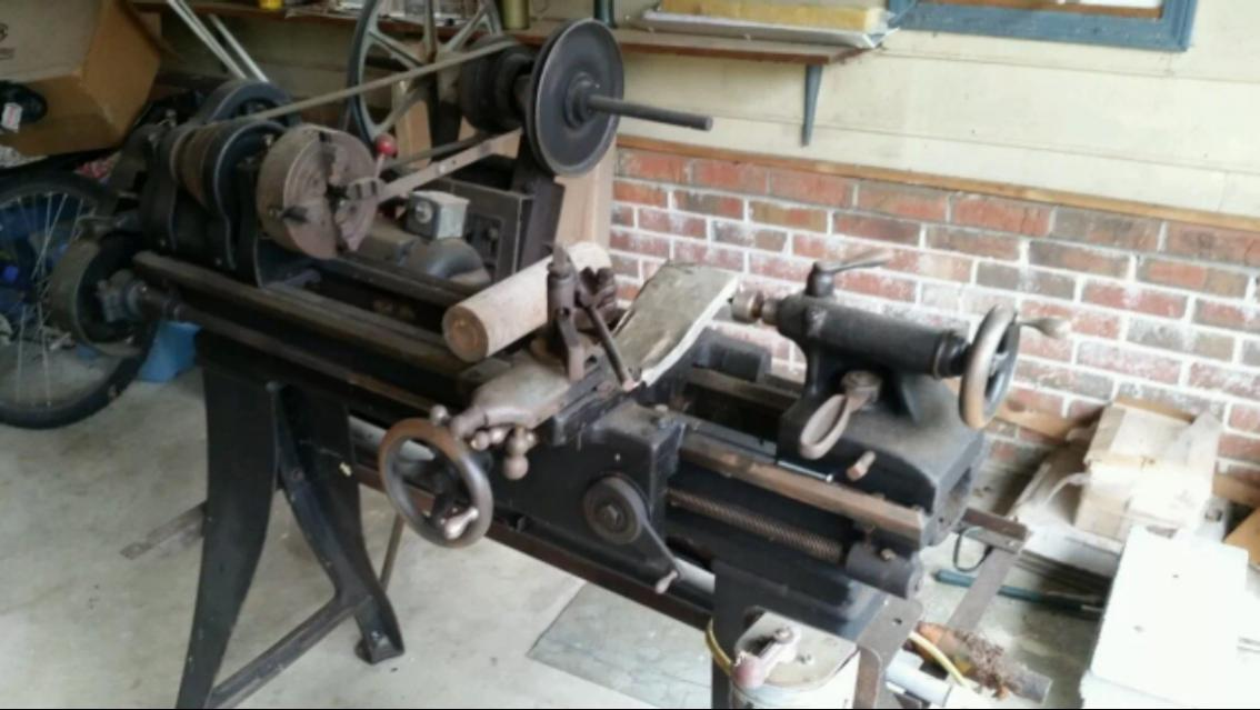 Best Way To Clean Up An Old Lathe