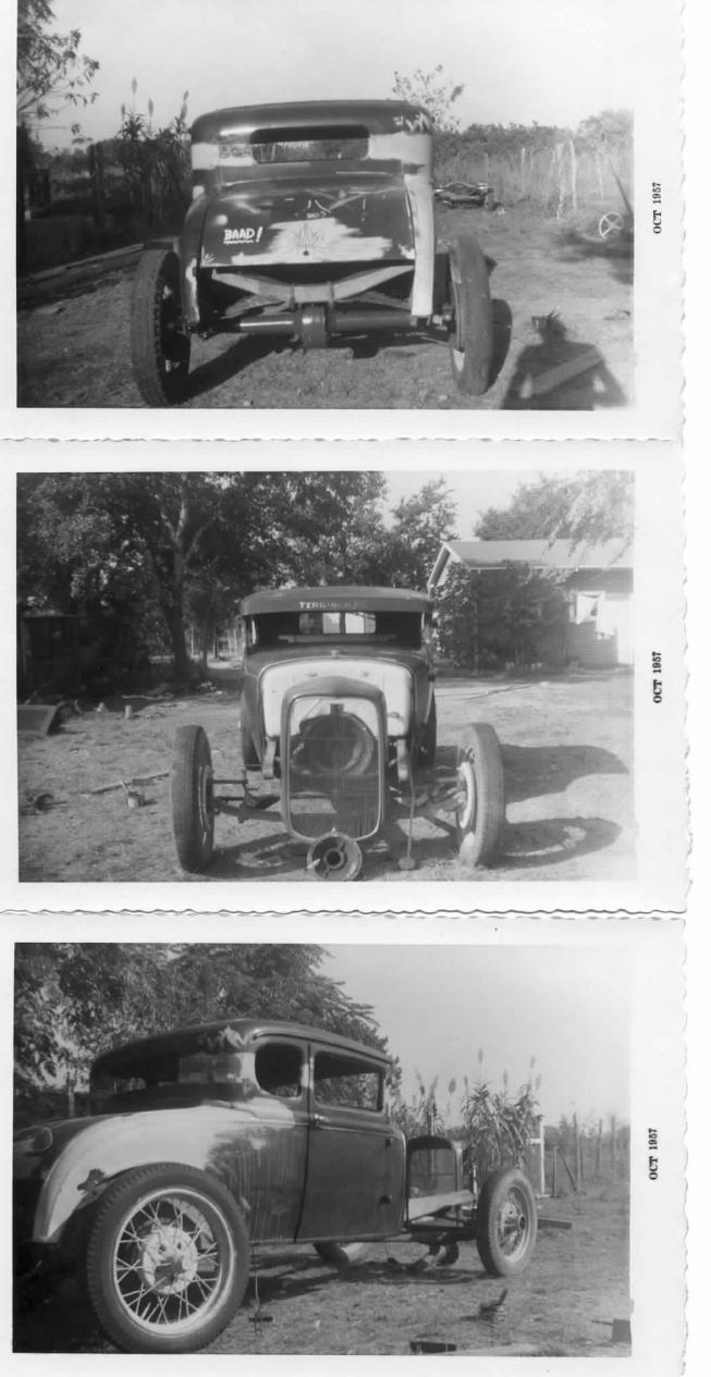 Photo: ...Pioneer Southern California Hot Rodder Barney Navarro...