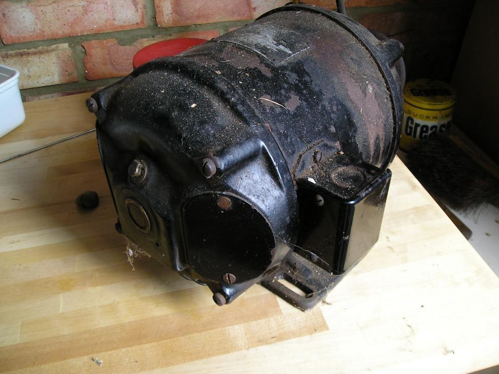 Old 2 Hp Single Phase Motor