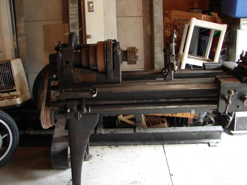 Help Requested Identifying Recently Acquired Metal Lathe