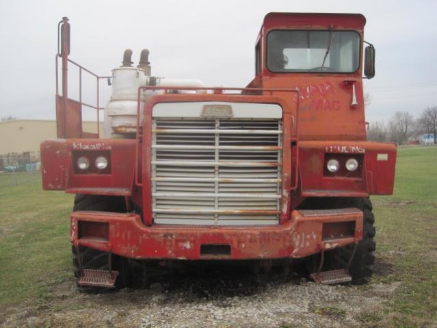 A Really Big Mack Truck