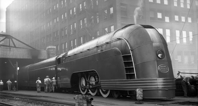 OT: Streamliner trains of the New York Central Railroad Henry Dreyfuss Train