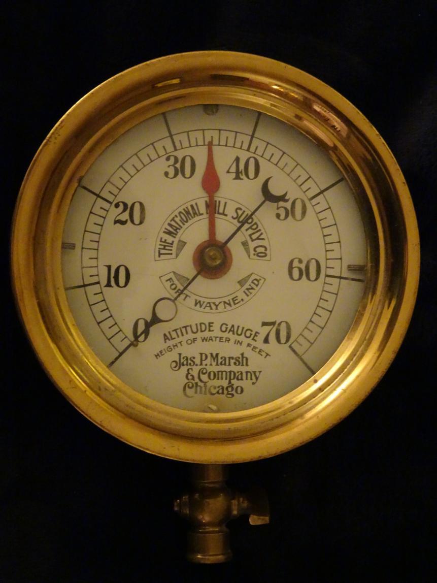 What Is This Steam Pressure Gauge