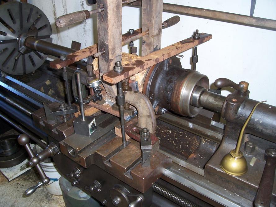 Photos of Antique Machine Tools Working