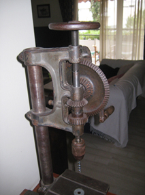 Vise for GoodellPratt press drill No10½
