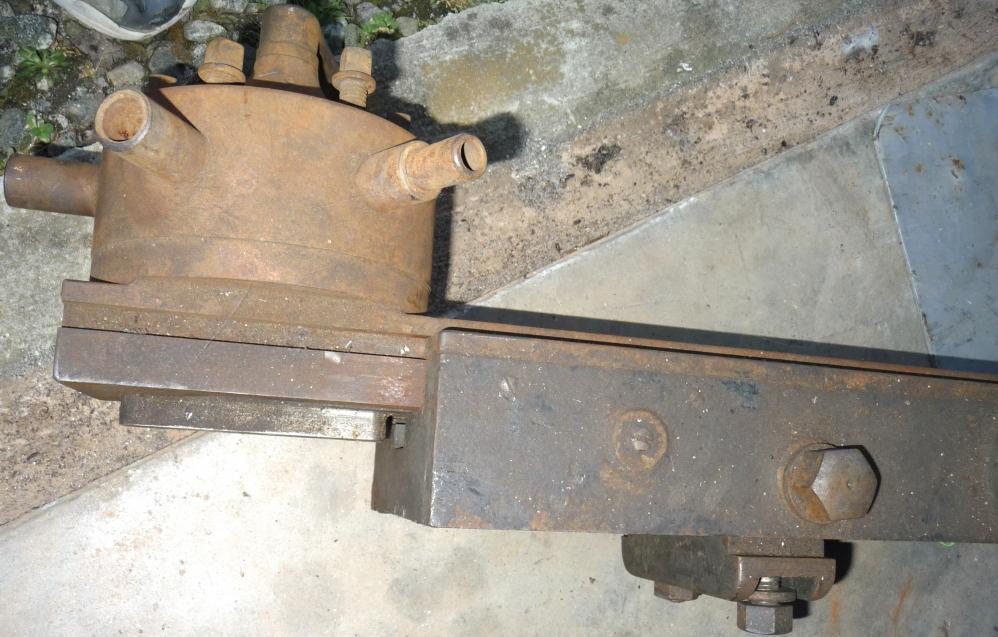 "Rare lathe turret attachment for a 12"" Hendey cone head lathe. Nothing ..."