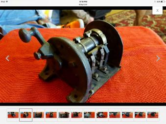 D Vintage Westinghouse Drum Switch Image on Single Pole Double Throw Switch
