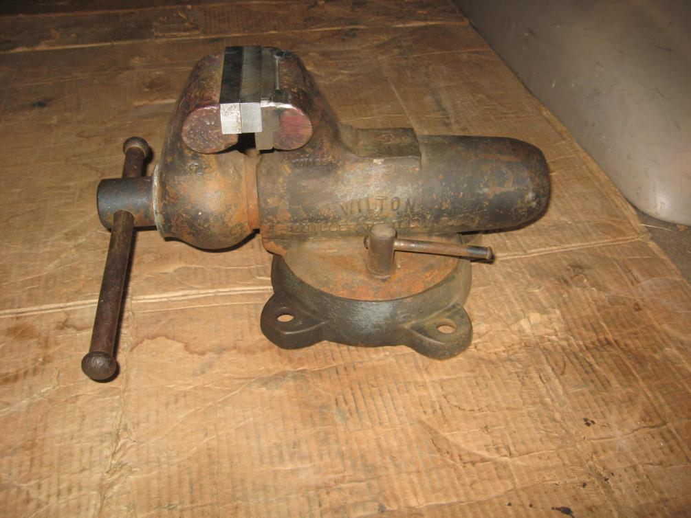 Wilton Vise Parts >> Wilton Bullet anvil - flatten or leave alone?
