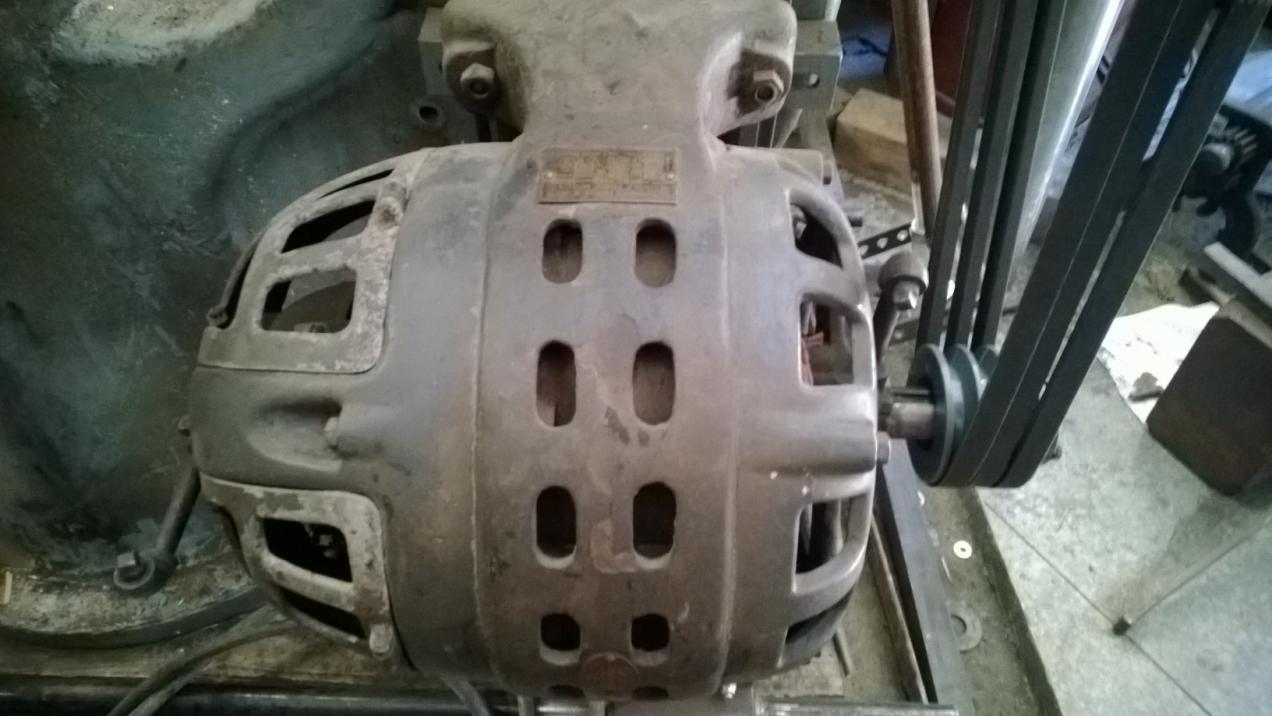 Repulsion Induction Motor