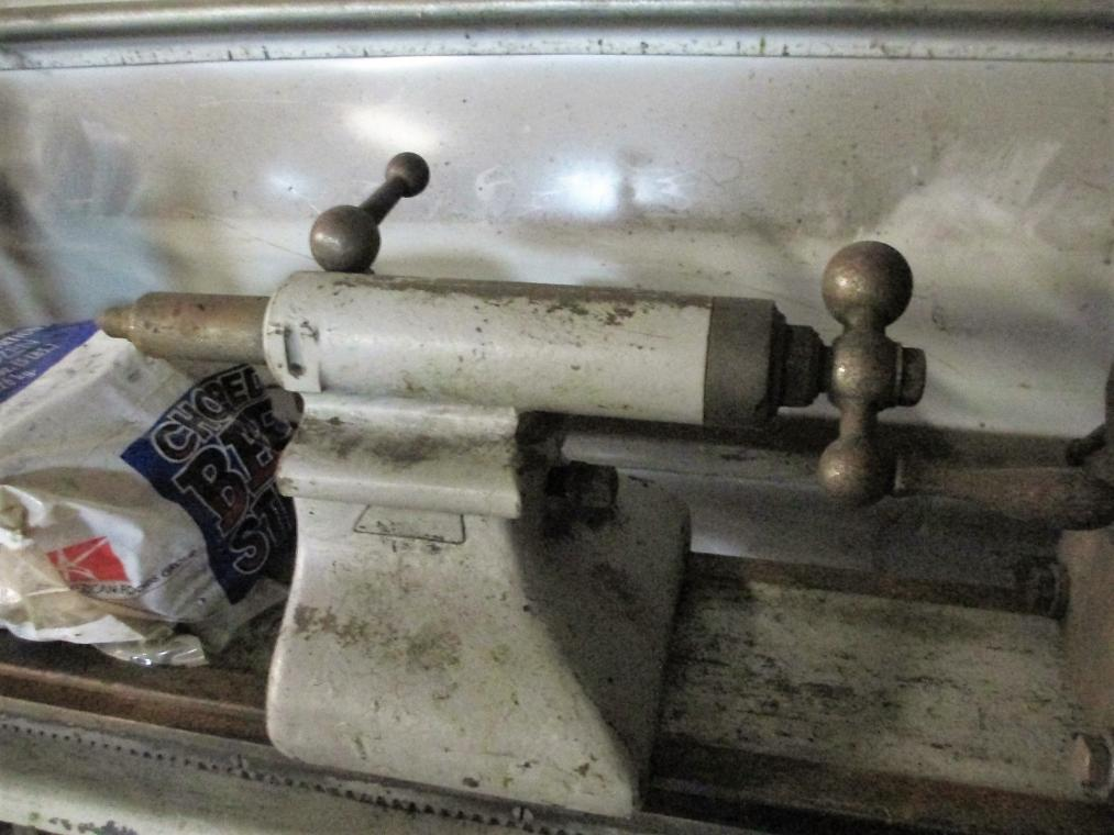 compressed air powered lathe