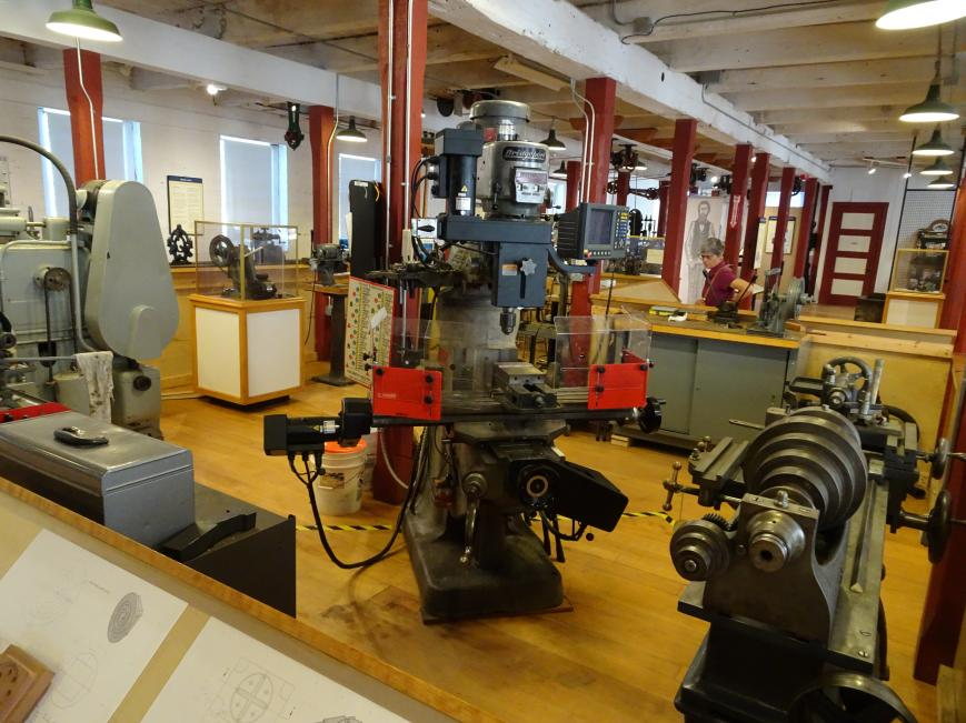 American Precision Machine Museum In Vt Tour