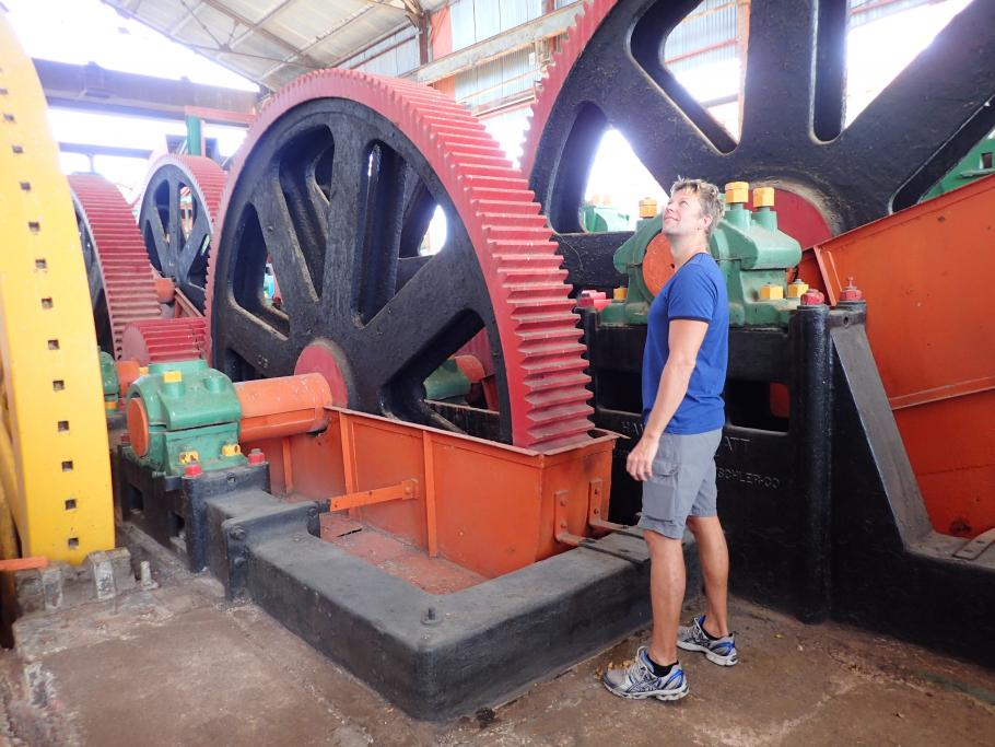 Sugar Cane Mill Cuba