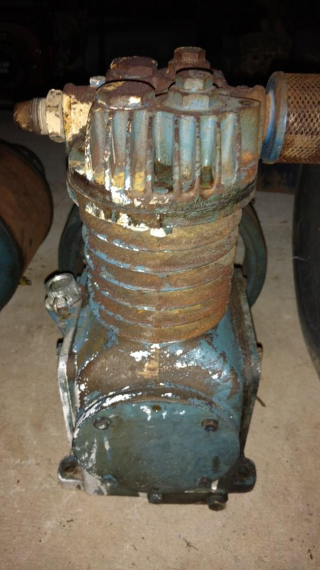 Vintage Compressor Pump Whose Is It