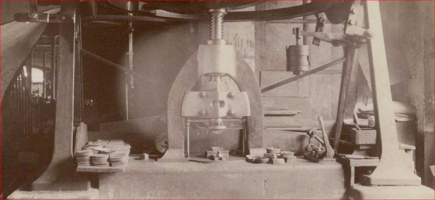 Machines industrielles anciennes - Chaise industrielle ancienne ...
