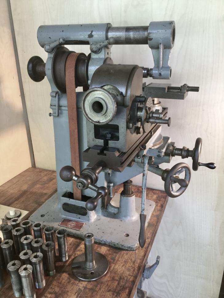 Lathe Machine My BC Ames horizontal ...