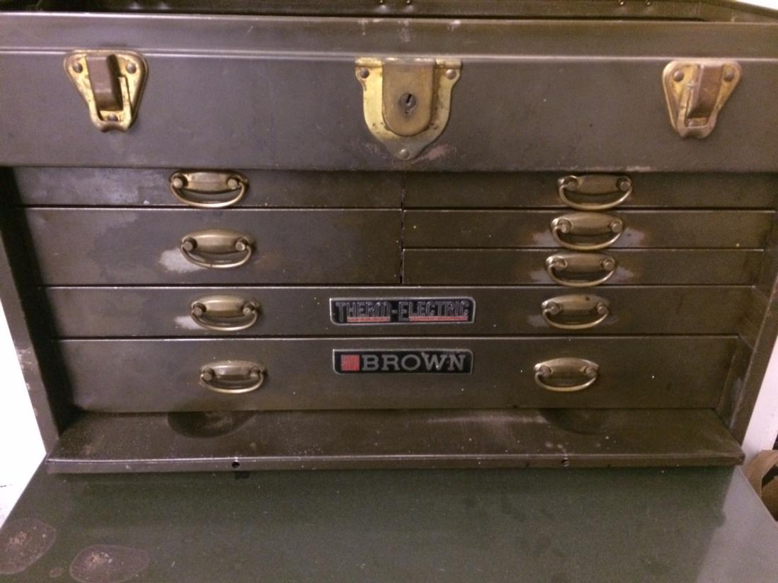 Is This A Kennedy 520 Machinist Tool Box
