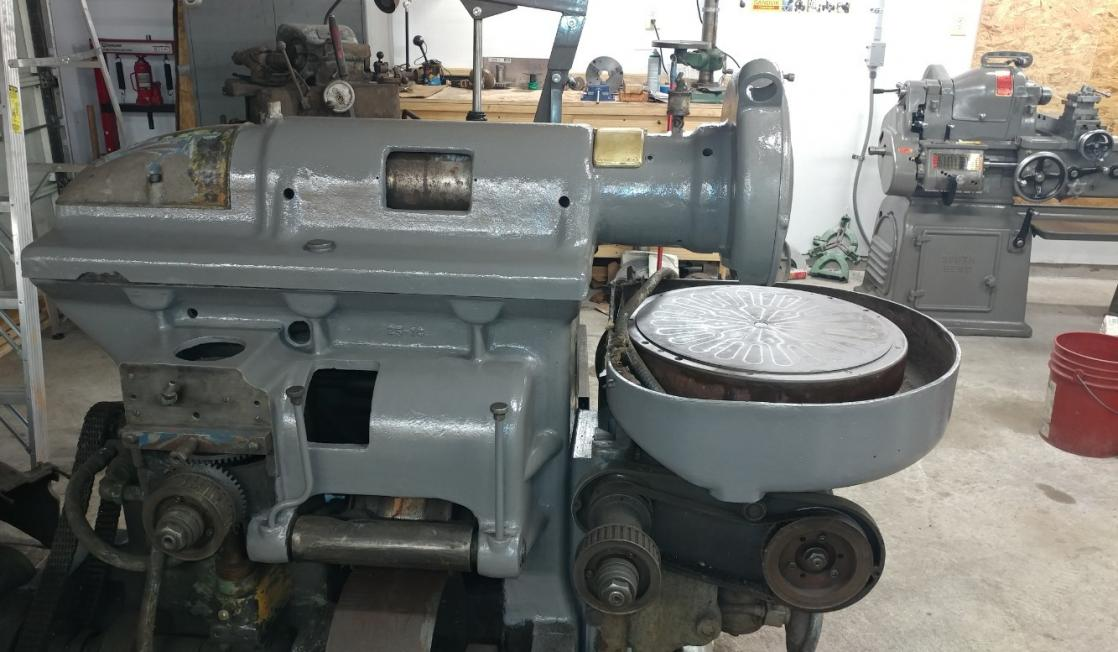 Grinding Parts Area : Heald no rotary surface grinder
