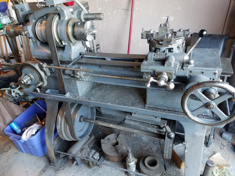 Im Trying To Find Out Who Manufacturer And Model Of This Old Metal Lathe