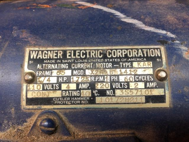 old wagner electric corp ac motors lincoln electric motor wiring diagram  wagner motor wiring diagram