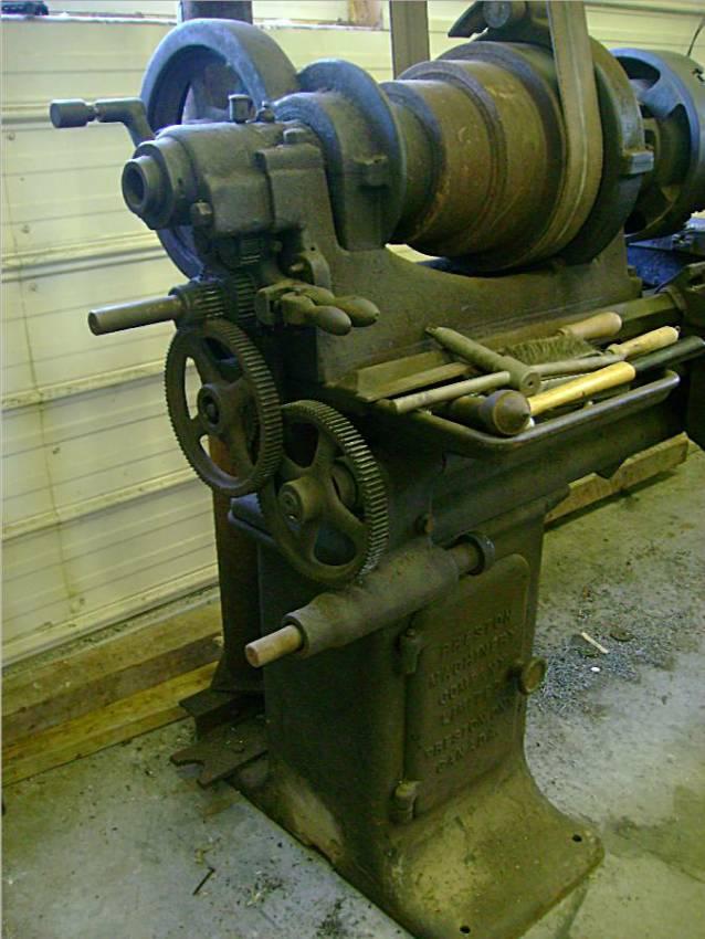Thread: Preston Machinery Company Lathe info