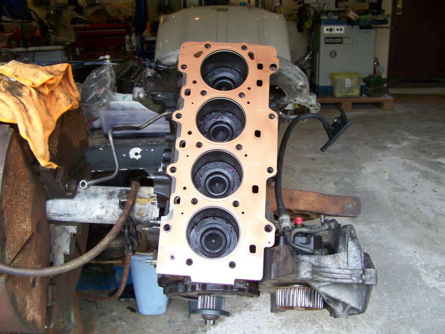 Dog point studs in engine block (was the dog point)
