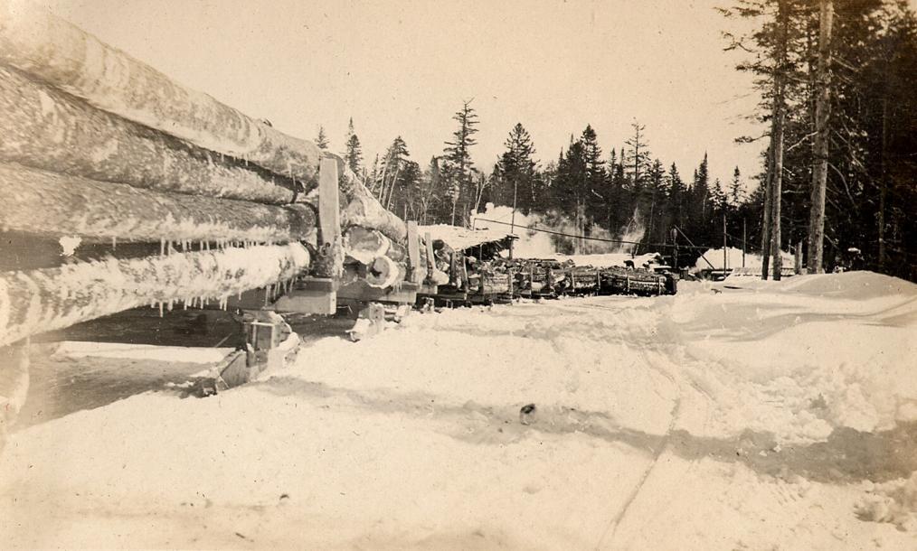 Ot Lombard Steam Log Hauler Sleds