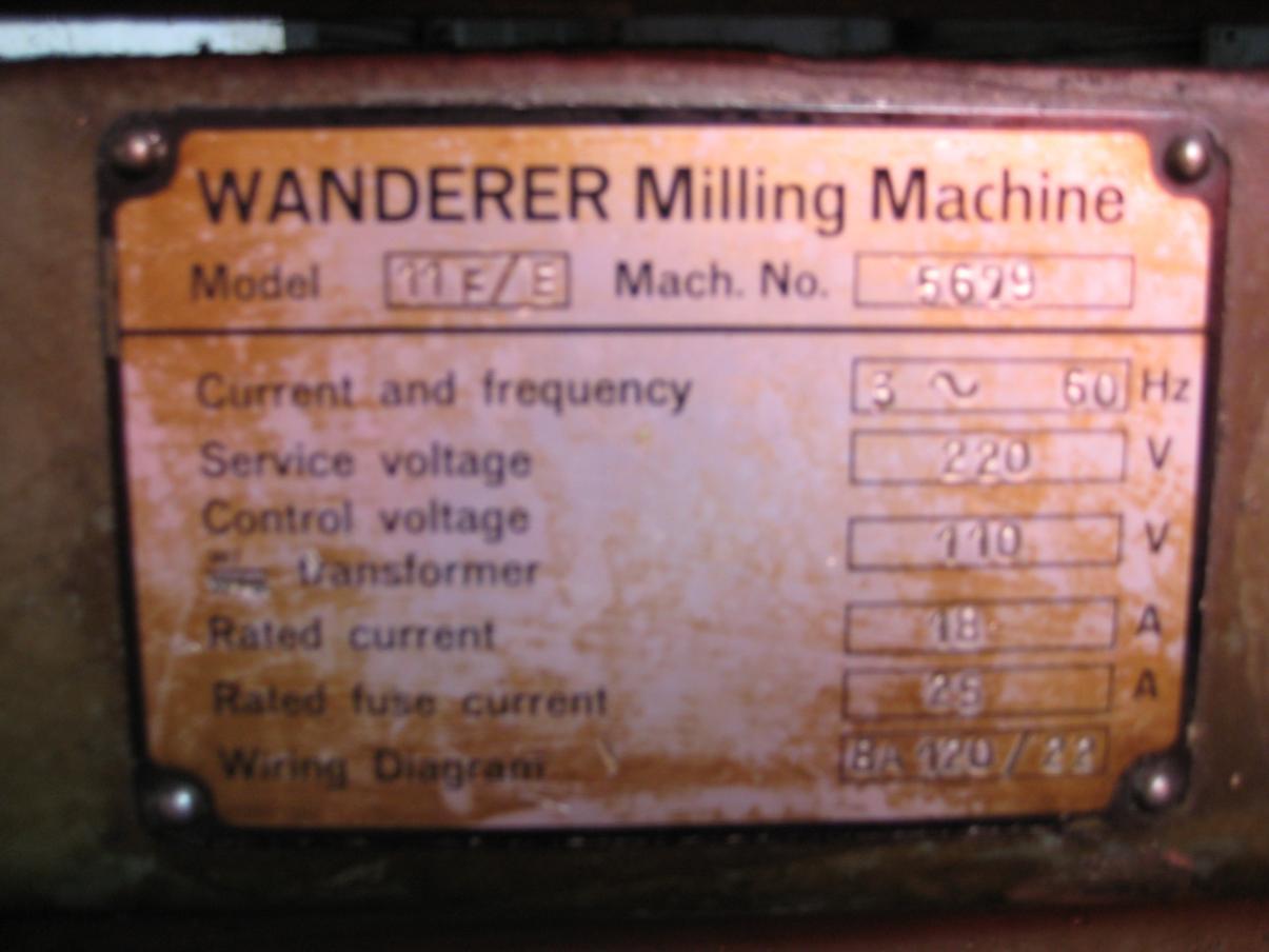 Wanderer Horizontal Mill info