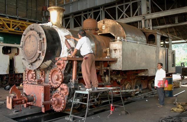 New Steam Locos Being Built In India
