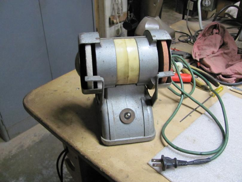 A Little Old Russian Bench Grinder