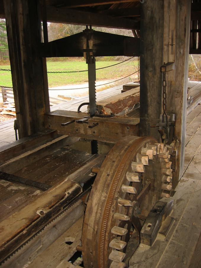 Water Powered Sawmill Machinery