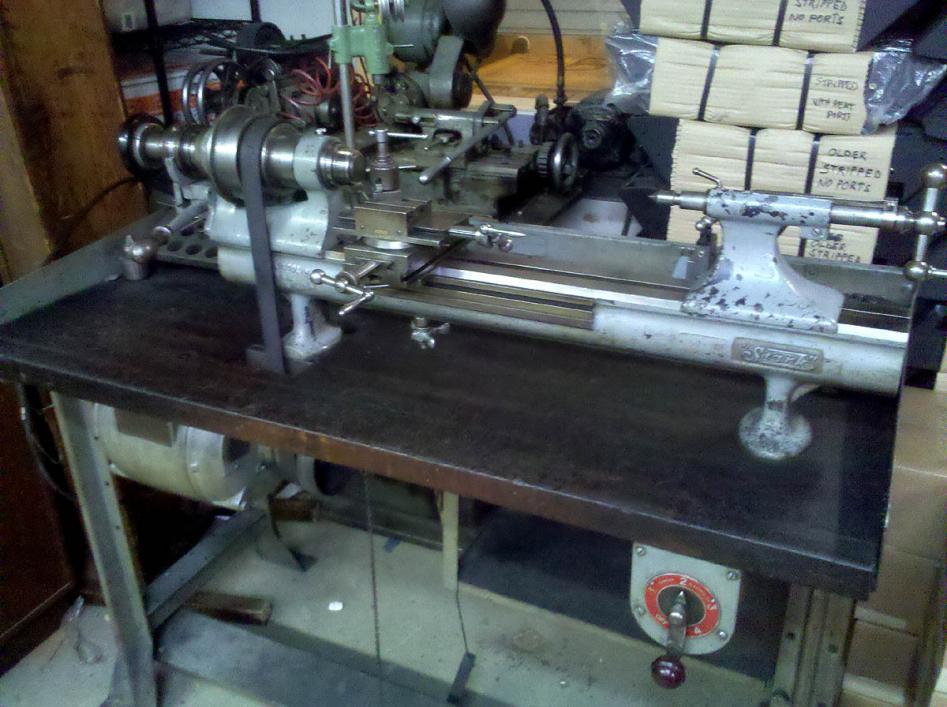 Stark Precision Bench Lathe 4 For Sale In N Nj