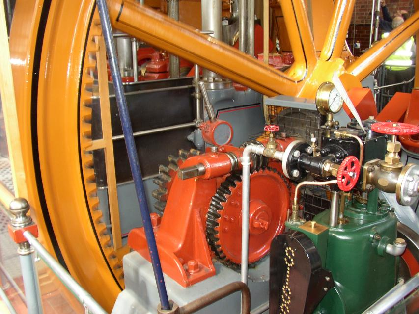 Laminated Gears At Brede Waterworks