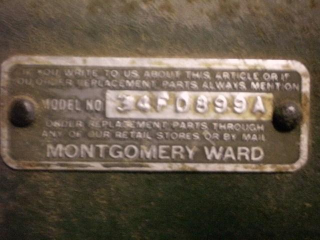 montgomery ward serial number lookup