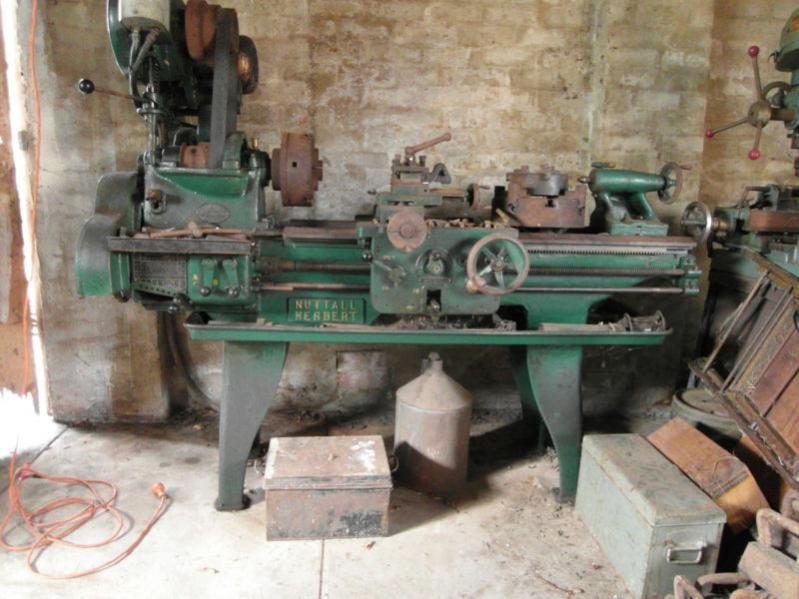 Looking For Information On An Old Nuttall Herbert Lathe