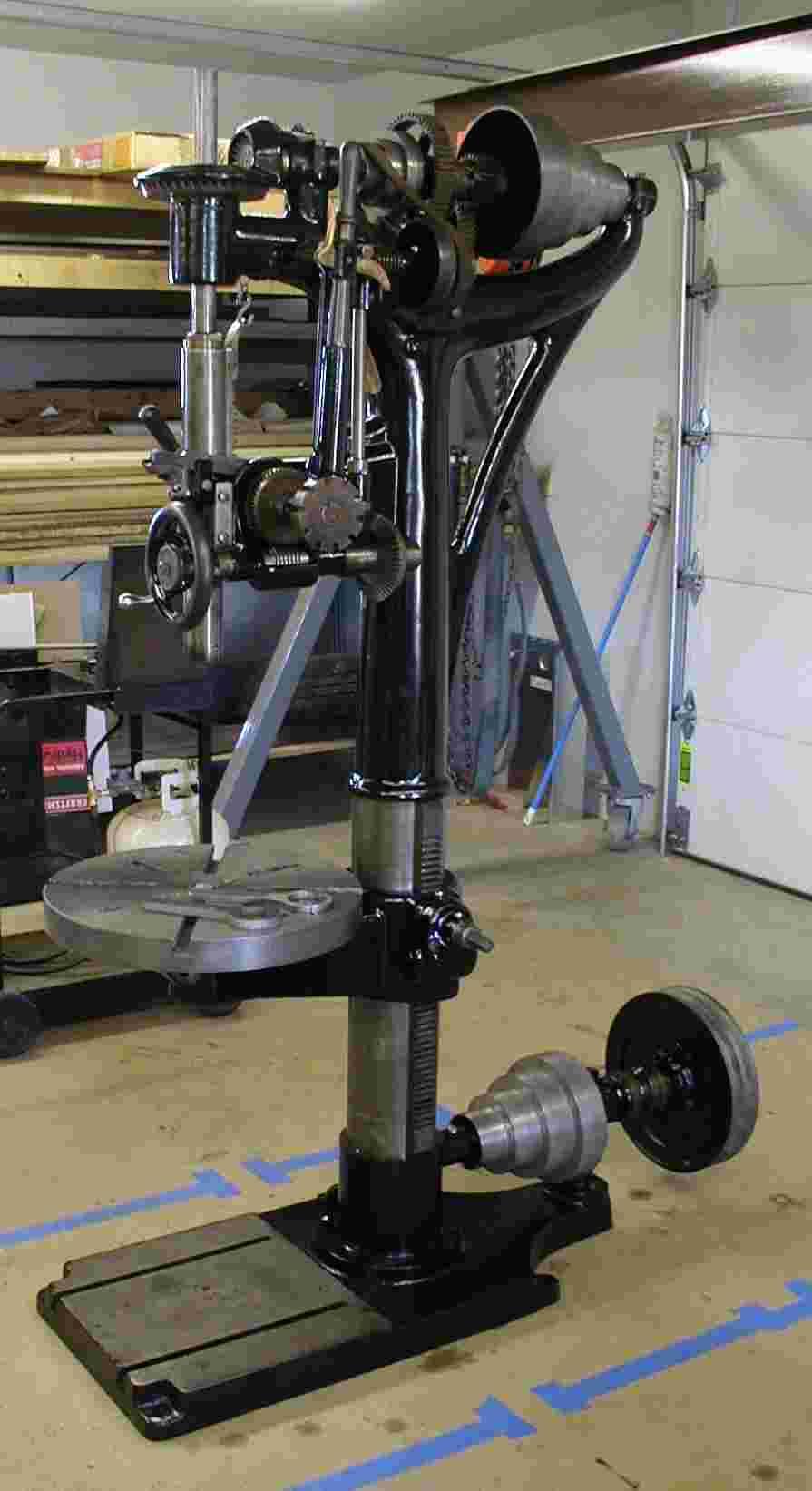 Thread: Cincinnati camel back drill press