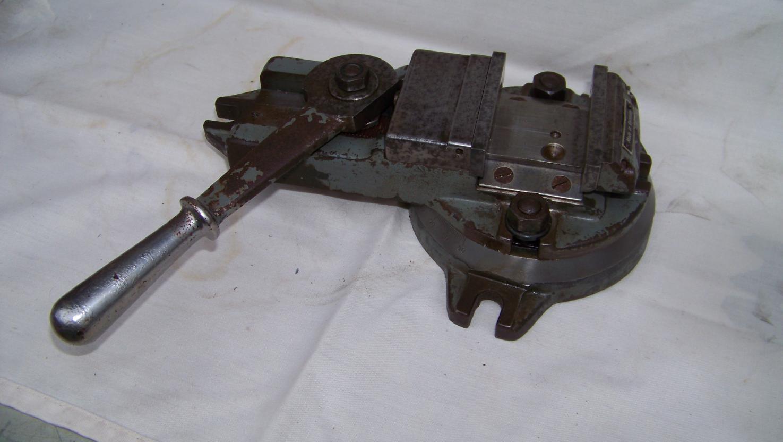 vintage german lever ratchet vice  vise