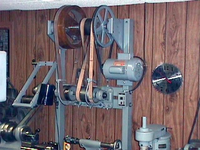 Lineshaft For Home Workshop