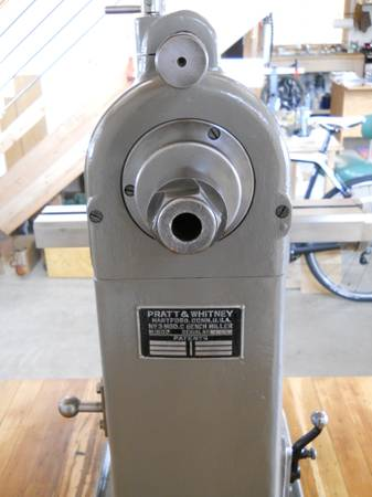 Pratt Amp Whitney 3c Milling Machine 6 500 Worth Page 2